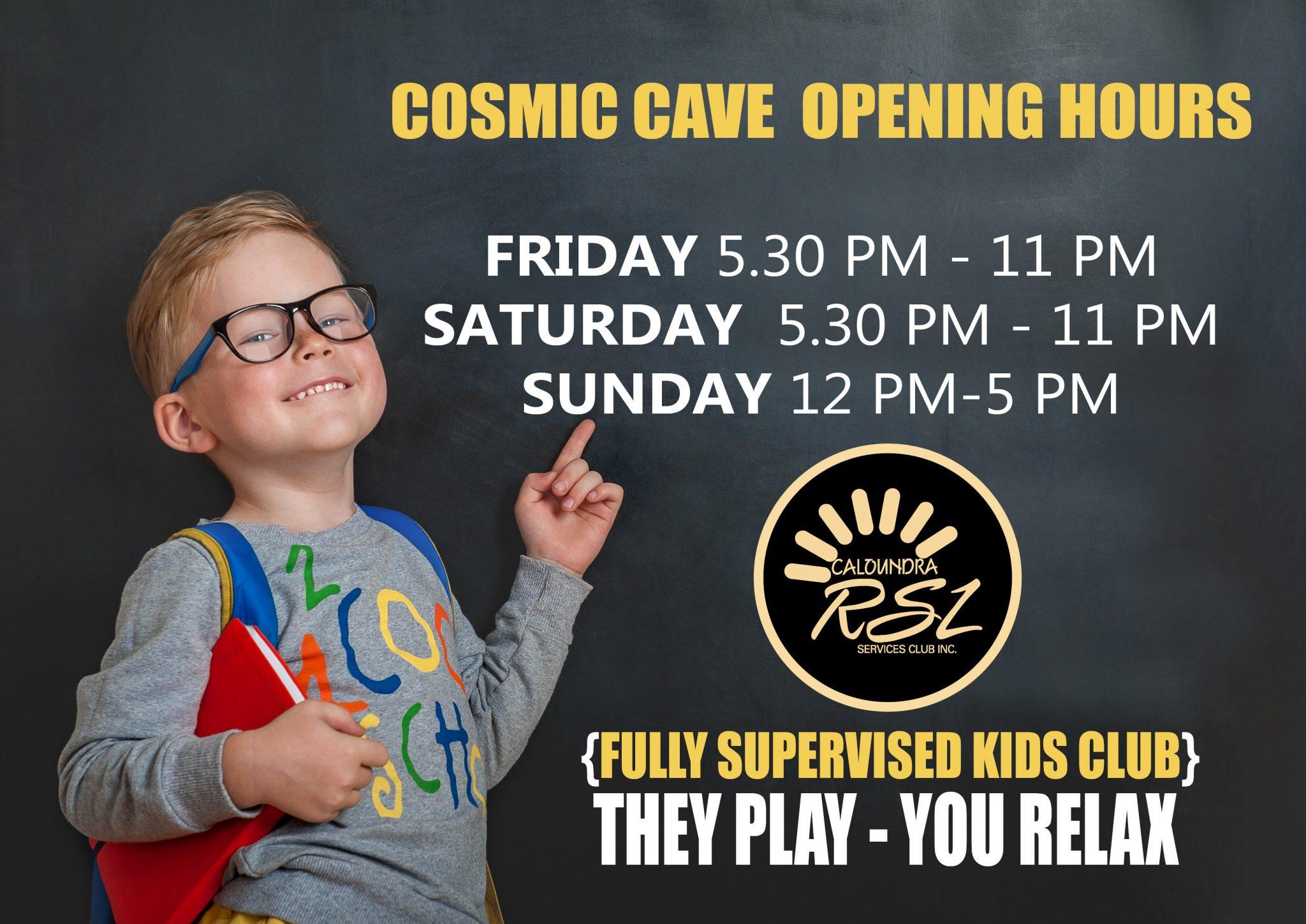 cosmic cave AD